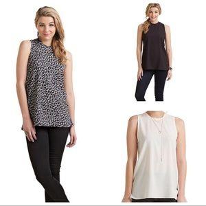 Bundle of 3 sleeveless dress tank tops